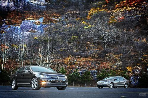 《中国汽车画报》对比新迈腾与新帕萨特