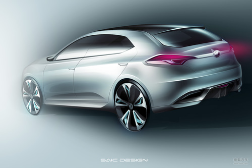 2011上海车展MG概念车
