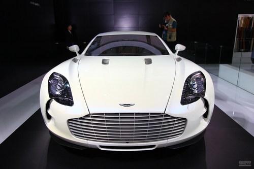 阿斯顿马丁One-77上海车展实拍