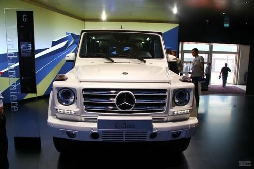 奔驰G500 北京车展实拍