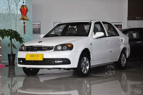 2012款吉利英伦SC3 1.3L手动豪华型