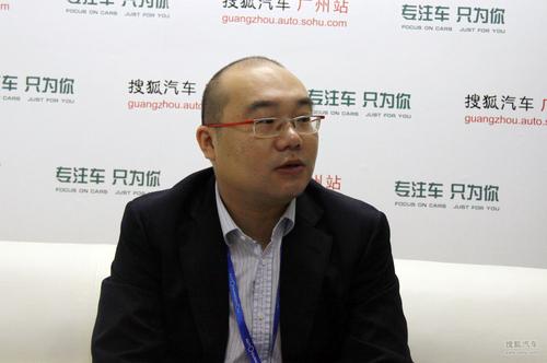 上海汽车乘用车市场传播及公共关系部高级经理 陆贤清