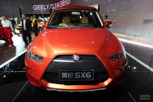 英伦汽车 SX6 实拍 外观 图片