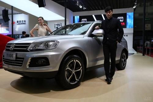 众泰T600 上海车展实拍