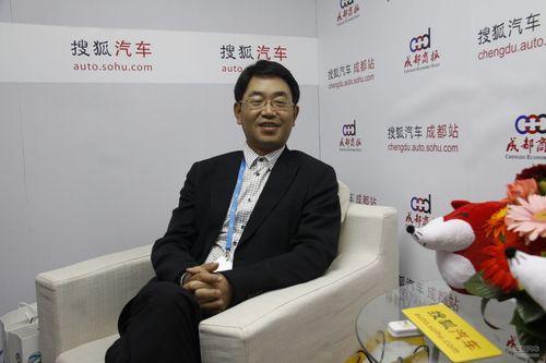 搜狐汽车专访东风本田执行副总经理 陈斌波