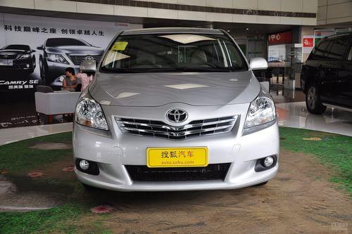 2012款广汽丰田逸致180G CVT舒适多功能版