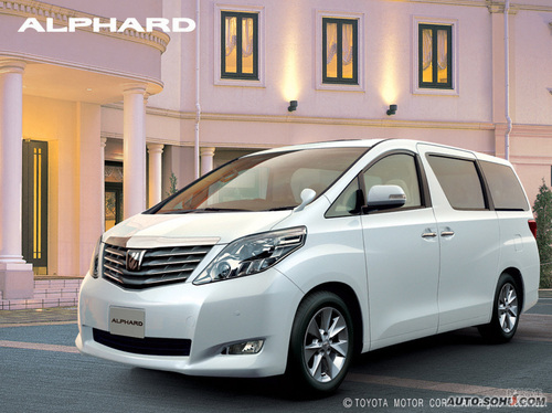 2008款丰田Alphard