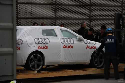 奥迪RS3 2011上海车展探营实拍
