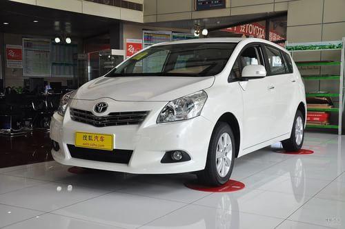 2011款广汽丰田逸致1.8舒适版