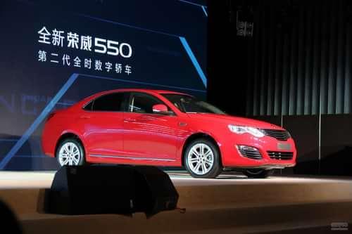 全新荣威550上市发布会实拍