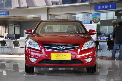 2010款北京现代悦动1.6L手动豪华型