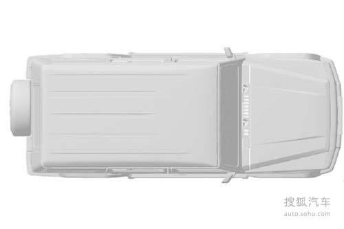 奔驰G55翻版—北汽B80V民用版曝光