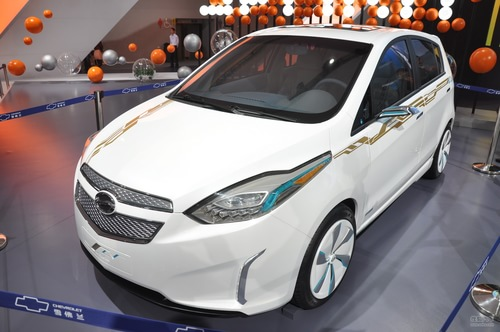 雪佛兰赛欧EV概念车 车展实拍