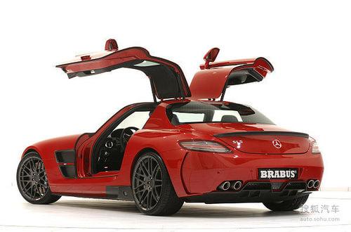 BRABUS再推奔驰SLS AMG宽体碳纤改装套件
