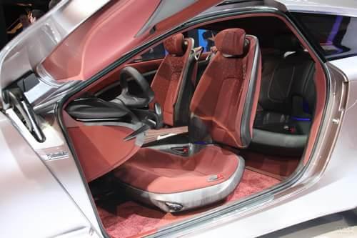 现代i-ioniq概念车日内瓦车展实拍