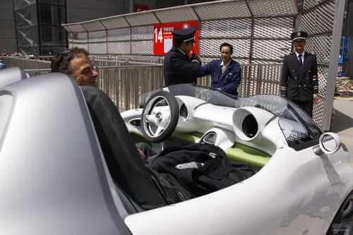 smart forspeed概念 2011上海车展探营实拍