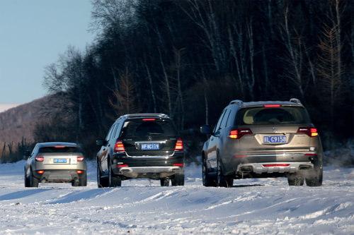 《中国汽车画报》对比评测三款豪华SUV