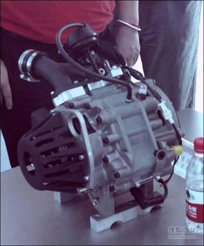 奇瑞将推转子发动机 增程技术初步探索