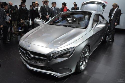 奔驰A级概念车上海车展实拍