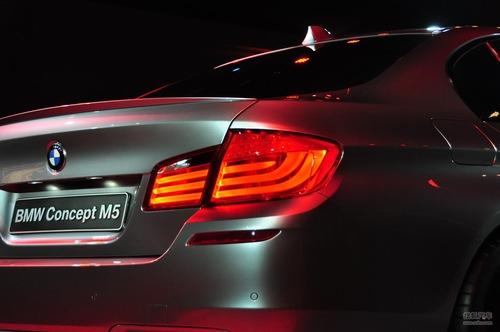 全新宝马M5概念车发布会现场实拍