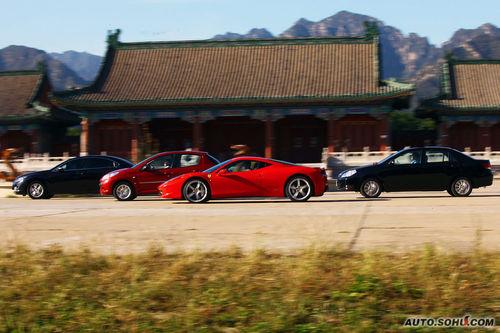 法拉利 458 Italia 实拍 其它 图片