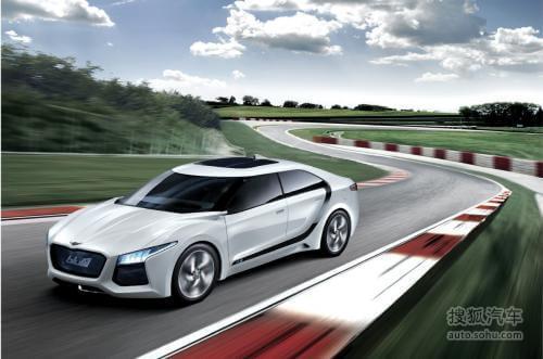 拓展新能源车!现代Blue2概念车正式发布