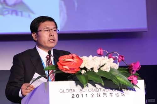 吉利汽车副总裁 赵福全 讲话