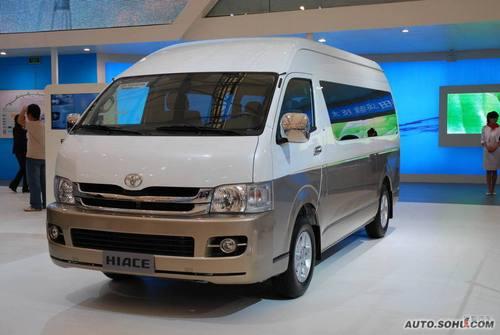 丰田海狮09上海车展实拍