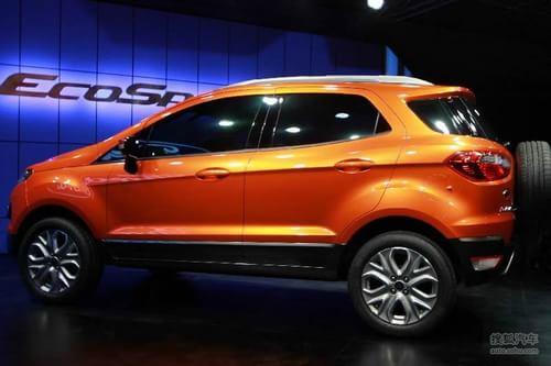 长安福特确认国产 福特SUV Ecosport实拍高清图片