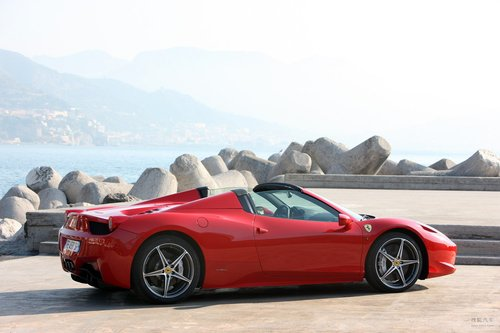 法拉利 458 Italia 实拍 外观 图片