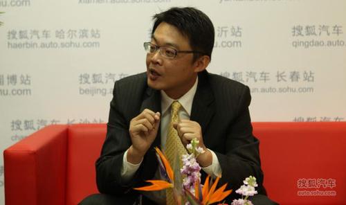 东南汽车销管组经理 王正璞