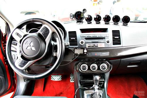 2009款三菱Evolution X国内升级