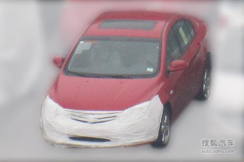 荣威350的车型谍照.荣威350从去年北京车展上市到现在还不