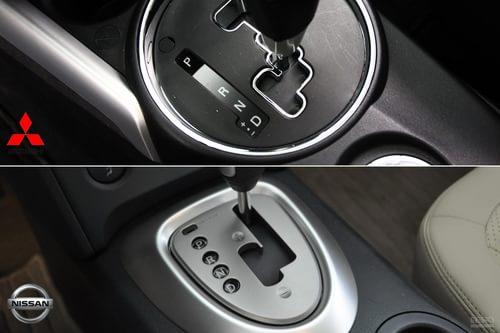 两车的自动挡车型皆提供cvt无级变速箱.