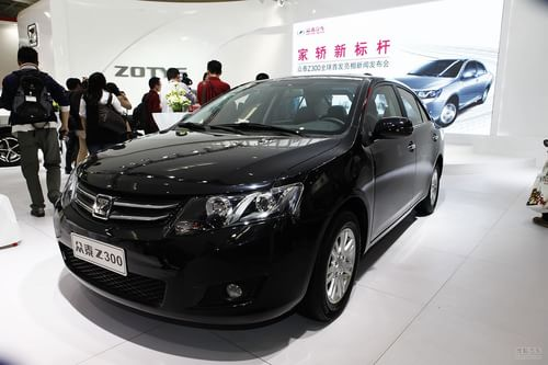 众泰Z300 2012北京车展实拍