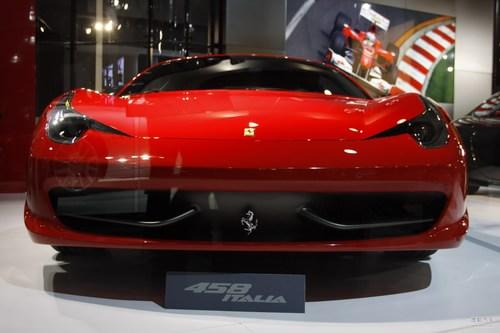 法拉利 458 实拍 其它 图片