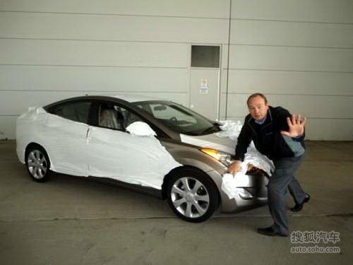 洛杉矶车展发布 2011款伊兰特微博曝光