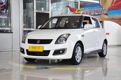 2013款长安铃木雨燕1.5L手动标准型