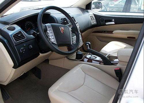 荣威首款SUV车型W5测试实车多图曝光
