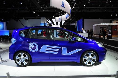 本田飞度EV 车展实拍