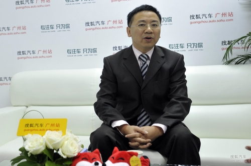 东风柳汽总经理助理兼销售公司总经理 姚利文