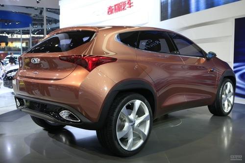 奇瑞TX概念车 2012北京车展实拍