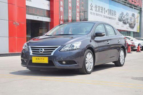 2012款东风日产新轩逸1.8L CVT到店实拍