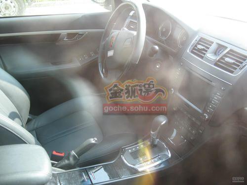 2011款荣威750谍照