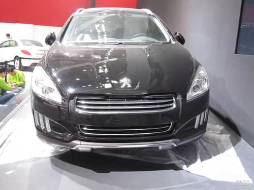 标致508RXH 2012北京车展探营