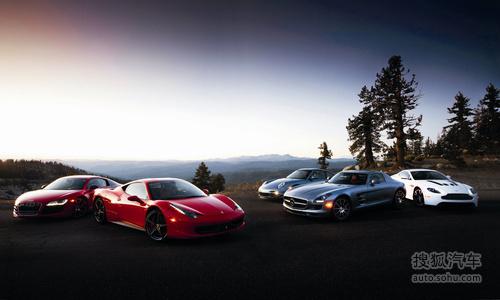 快亦有道 五款500+马力超级跑车对比测试