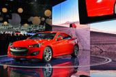 2013款现代Genesis Coupe北美车展实拍,2012北美车展