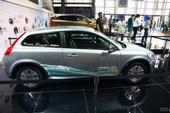沃尔沃C30电动车 车展实拍