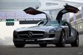 2010款奔驰SLS AMG上海赛道试驾   图解