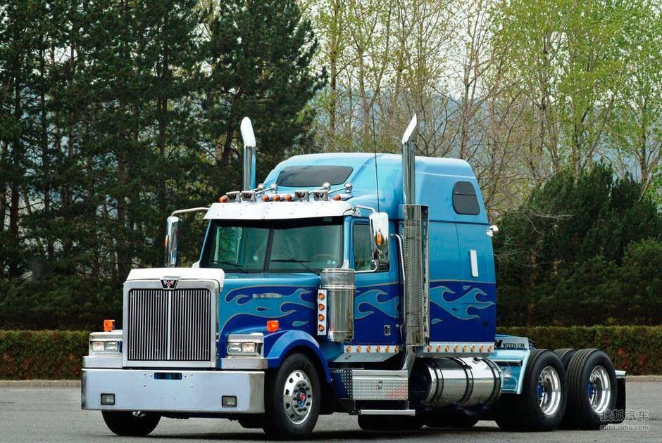 美国卡车_【别样的美式风味儿 解析美国超级重型卡车(3457545)】_车迷趣图 ...